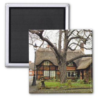 THATCHED COTTAGES MAGNET