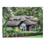 THATCHED COTTAGES POST CARD