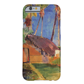 Thatched Hut Under Palms Barely There iPhone 6 Case