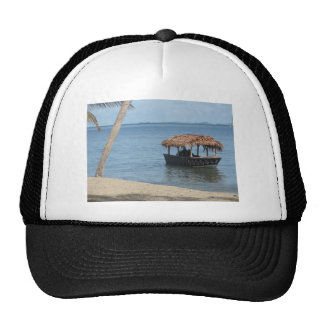 Thatched Roof Boat Mesh Hat
