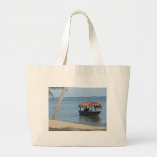 Thatched Roof Boat Tote Bag