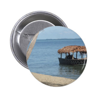 Thatched Roof Boat Button