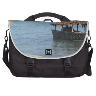 Thatched Roof Boat Laptop Commuter Bag