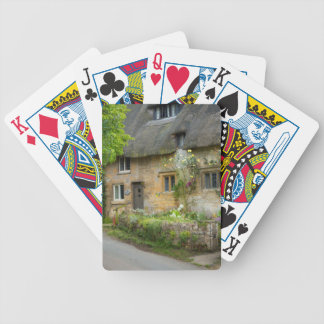 Thatched Roof home Bicycle Playing Cards