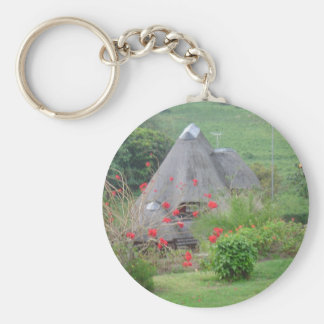Thatched Roof Key Chains