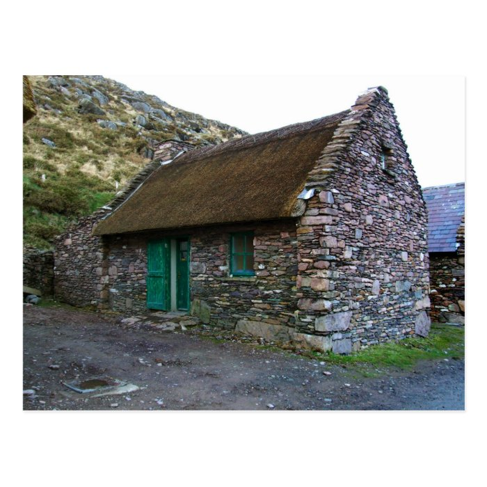 Thatched Stone Cottage,Kerry, Ireland Postcards
