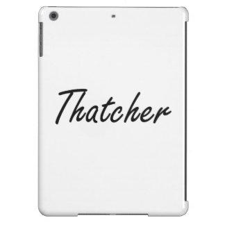 Thatcher Artistic Job Design Case For iPad Air