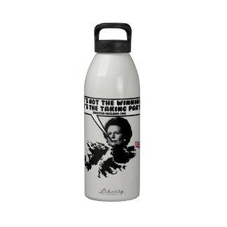 Thatcher divertida Malvinas Botellas De Agua Reutilizables