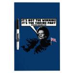 Thatcher divertida Malvinas Pizarra