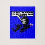 Thatcher divertida Malvinas Rompecabeza Con Fotos