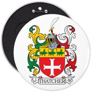 Thatcher Family Crest Buttons