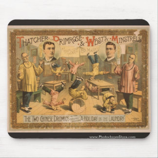 Thatcher Primrose and Wests Minstrels Mouse Pad