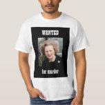 Thatcher QUISO el poster Playera