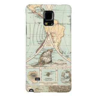 Thatigkeit des Erdinnern Atlas Map Galaxy Note 4 Case