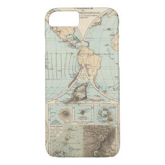 Thatigkeit des Erdinnern Atlas Map iPhone 8/7 Case