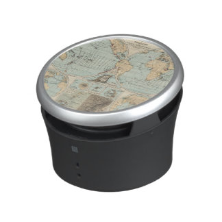 Thatigkeit des Erdinnern Atlas Map Speaker
