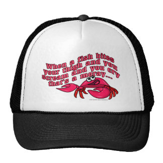 That's A Moray Mesh Hat