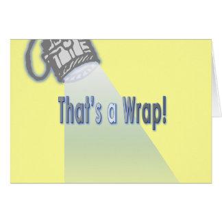 That's a Wrap! Card