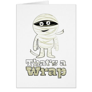 Thats A Wrap Greeting Card