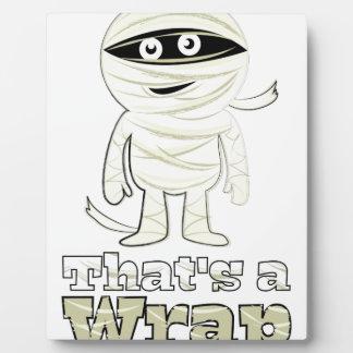 Thats A Wrap Photo Plaque