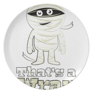 Thats A Wrap Plate