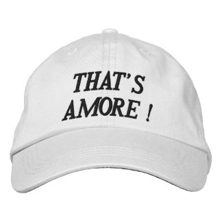 THAT'S AMORE Personalized Adjustable Hat
