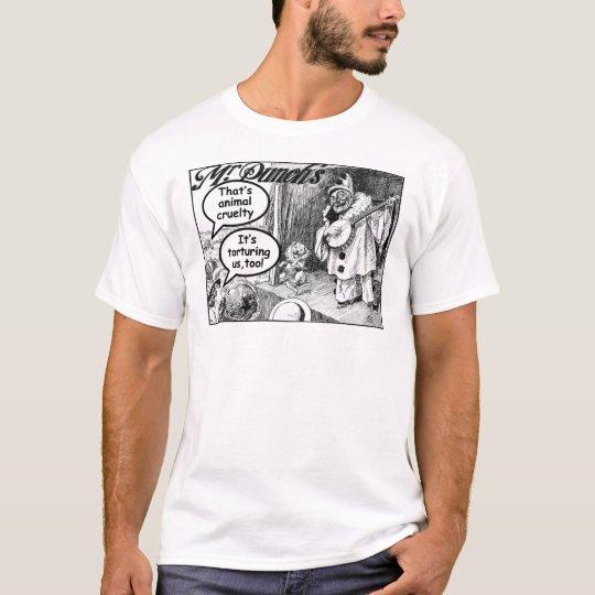 That's Animal Cruelty (Evil Banjo Clown) T-Shirt