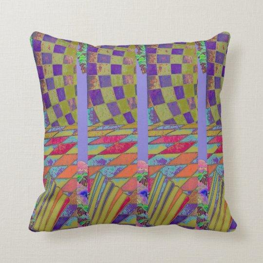 That's Bizarre - & Pretty - Geometrix Throw Pillow