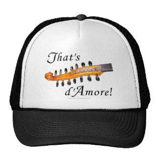 That's d'Amore! Mesh Hats