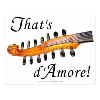 That's d'Amore! Postcard