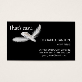 That's easy business card