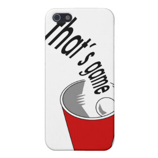 """""""That's Game"""" iPhone Case 