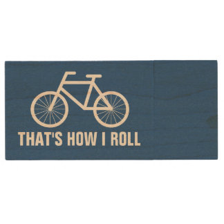 Thats how i roll Bicycle USB pendrive flash drive