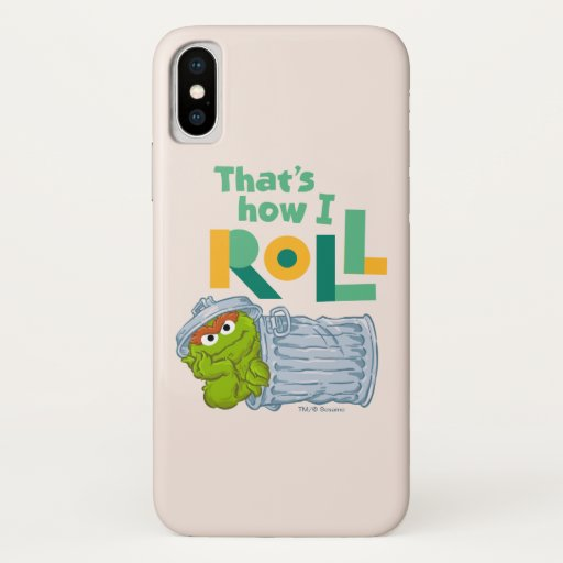 That's How I Roll iPhone X Case