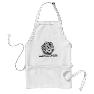 That's How I Roll d20 Adult Apron