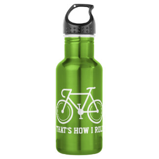 Thats how i roll funny bicylce sports water bottle