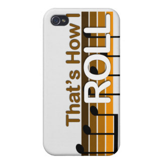 That's How I Roll iPhone 4/4S Case