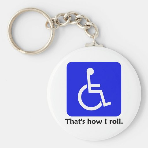 That's how I roll. Keychain