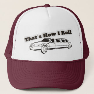 That's How I Roll Old School Limo Hat
