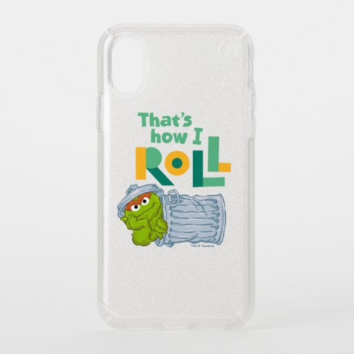 That's How I Roll Speck iPhone X Case