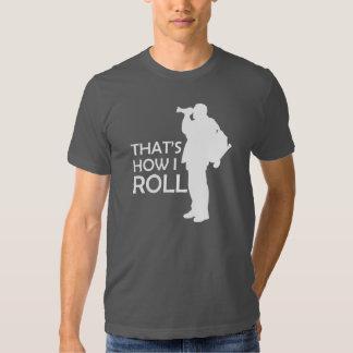 That's How I Roll Take Photo Tee Shirt