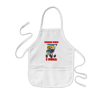 That's How I Roll. Toddler in a Stroller Kids' Apron