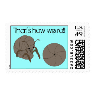 That's How We Roll! Roly Poly Postage