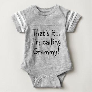That's It.. I'm Calling Grammy! Baby Romper Custom