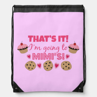 That's it! I'm going to Mimi's! Cinch Bags