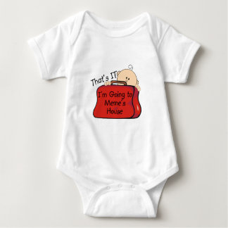 That's it Meme Baby Bodysuit