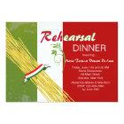 That's Italian Rehearsal Dinner Party Invitation