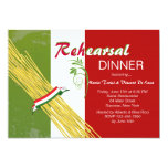"That's Italian Rehearsal Dinner Party Invitation 5"" X 7"" Invitation Card"