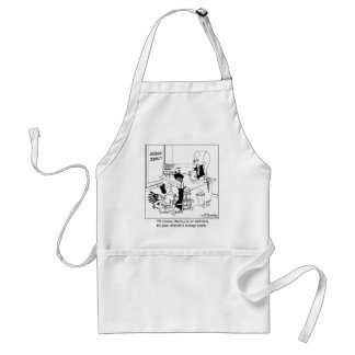 That's Just A Tuition Estimate Adult Apron