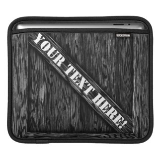 That's just Crate! - Black Wood - iPad Sleeve
